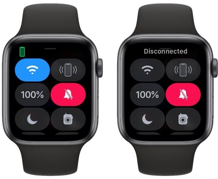 Toggle WiFi on Apple Watch