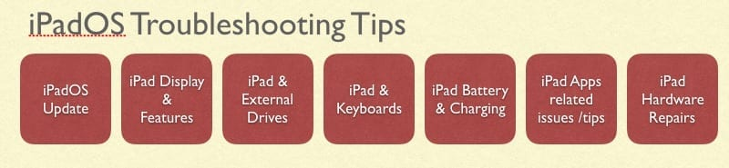 iPad Troubleshooting Guide