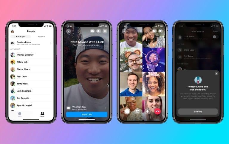Create Messenger Room from Facebook Messenger