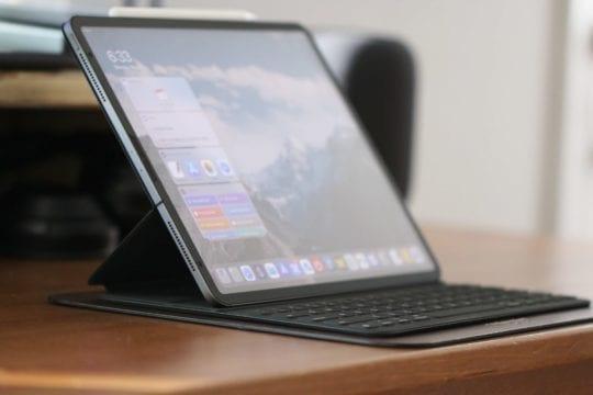 Smart Keyboard Folio From Side