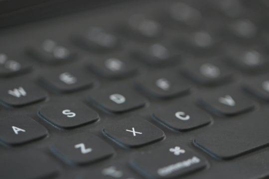 Smart Keyboard Folio Keys Closeup