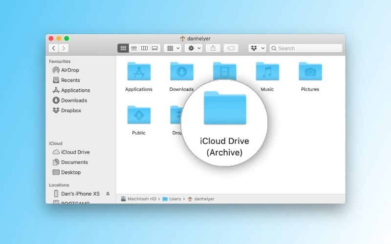 What is iCloud Drive (Archive) and is it safe to delete it?