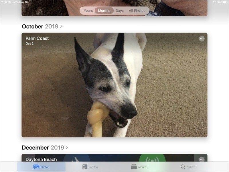 Years Months Days Photos-iPad
