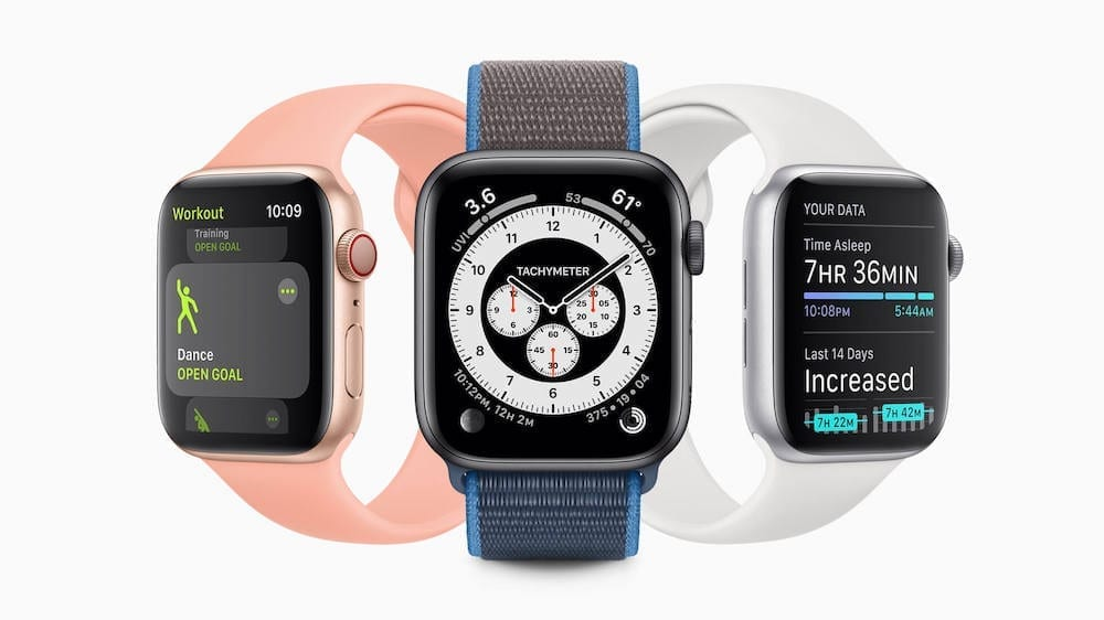 WatchOS 7 Hero