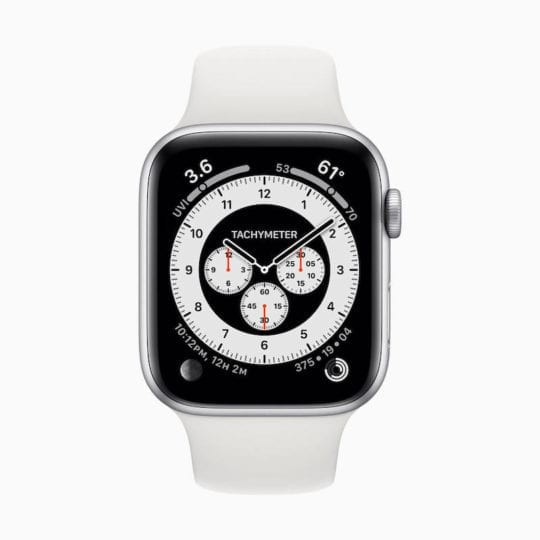WatchOS 7 Chronograph Watch Face