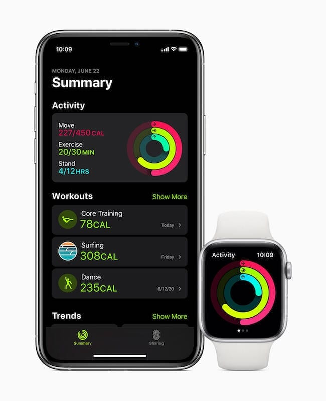 New Fitness App WatchOS 7