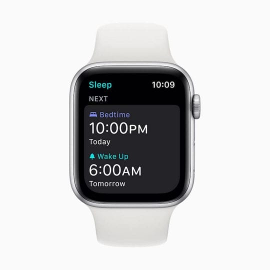 Sleep Goal WatchOS 7