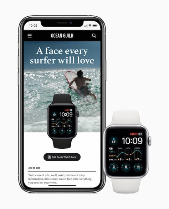 Watch Face Sharing on WatchOS 7