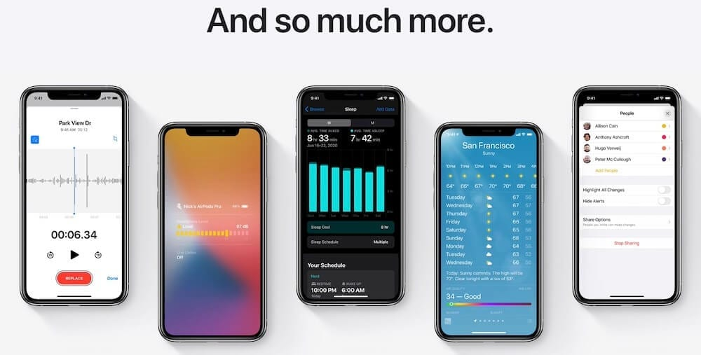 Extra iOS 14 Features