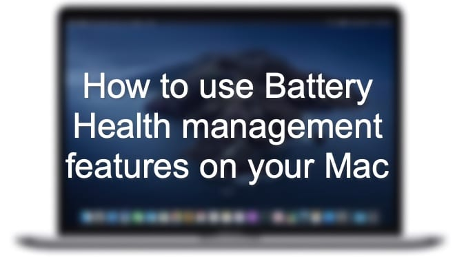How to use Battery Health management features on your Mac Hero
