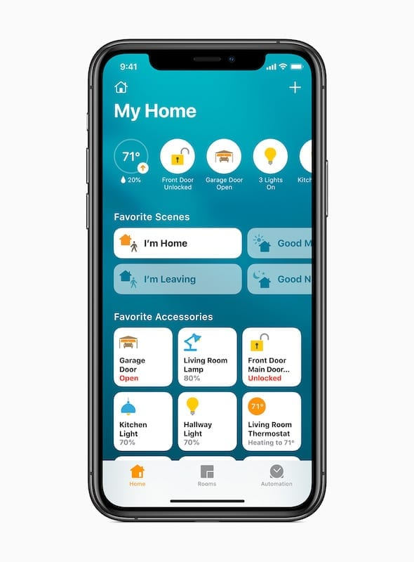 iOS 14 Home App Interface
