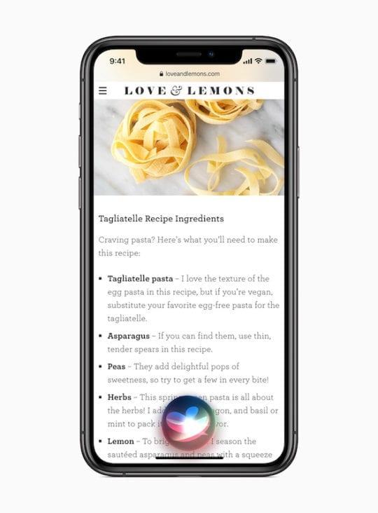 iOS 14 Siri Interface