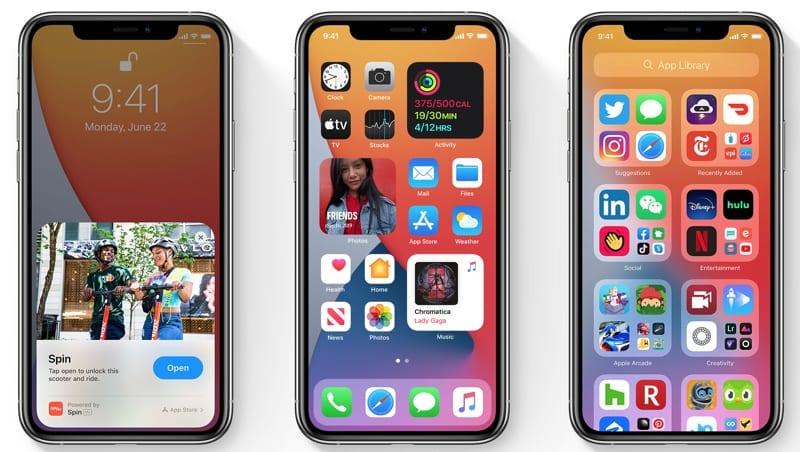 iOS 14 Apple iPhones