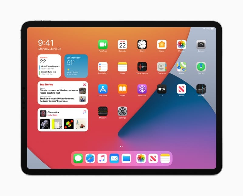 iPadOS 14 Apple iPad