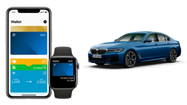 Apple Car Key on iPhone and Apple Watch with supported car