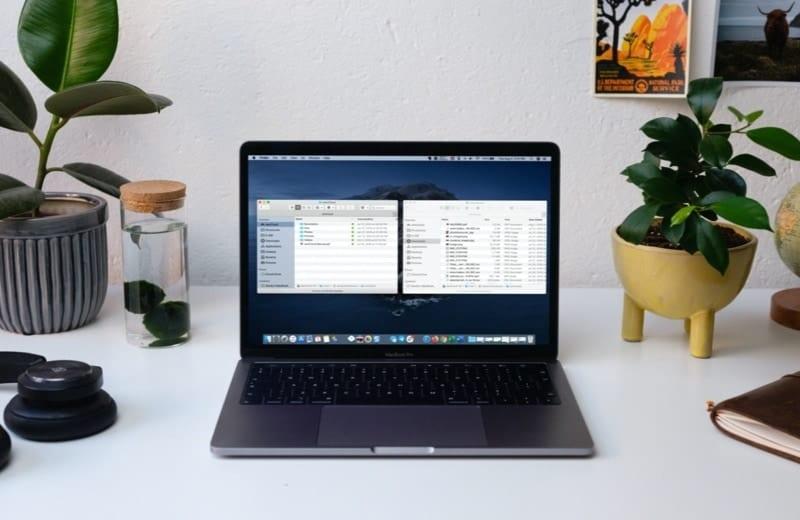 Open Two Finder Windows MacBook