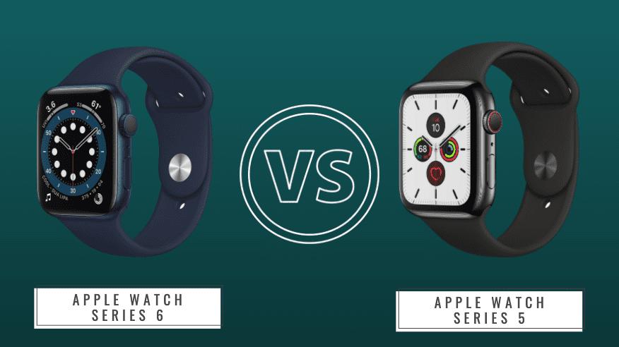 Apple Watch 5 vs 6 Hero