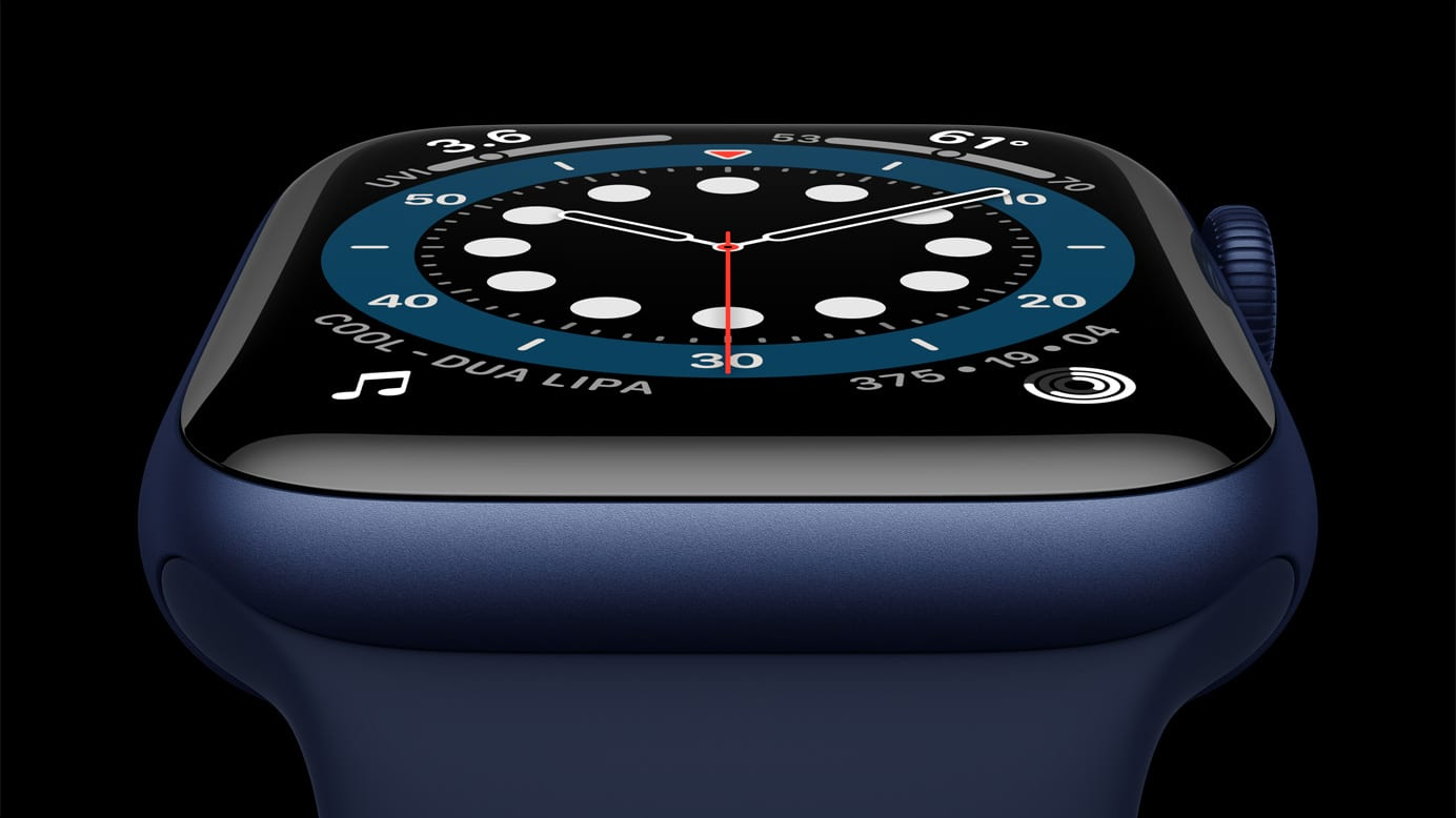 Apple Watch Series 6 in Blue