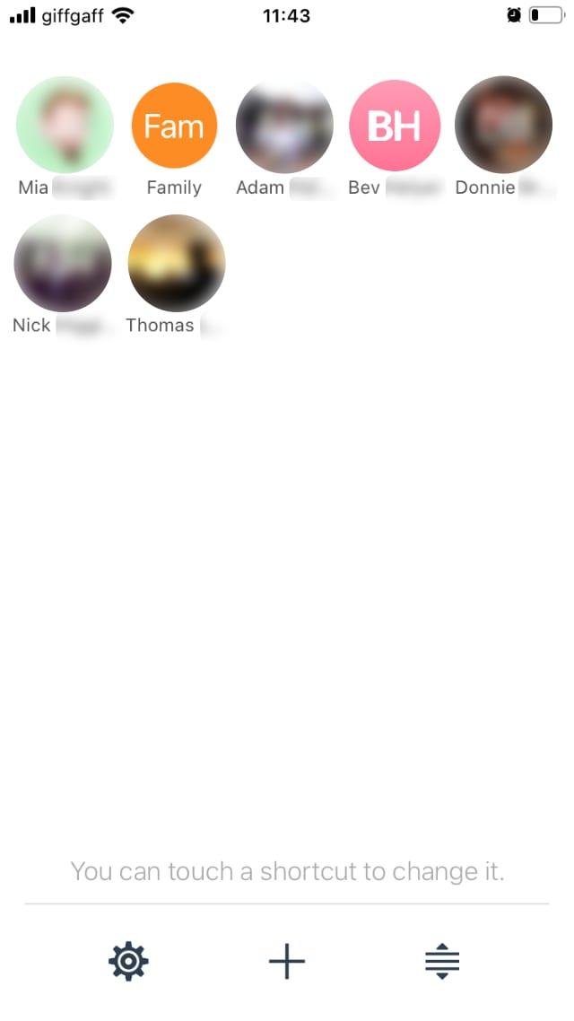 Favorites Contact Launcher app
