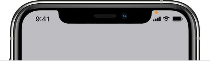 iOS 14 Orange or Green Dots in Status Bar Microphone