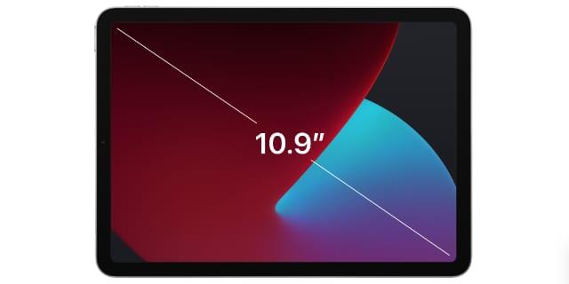 iPad Air display measurement