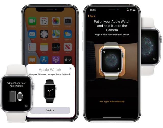 Apple Watch set up on iPhone2