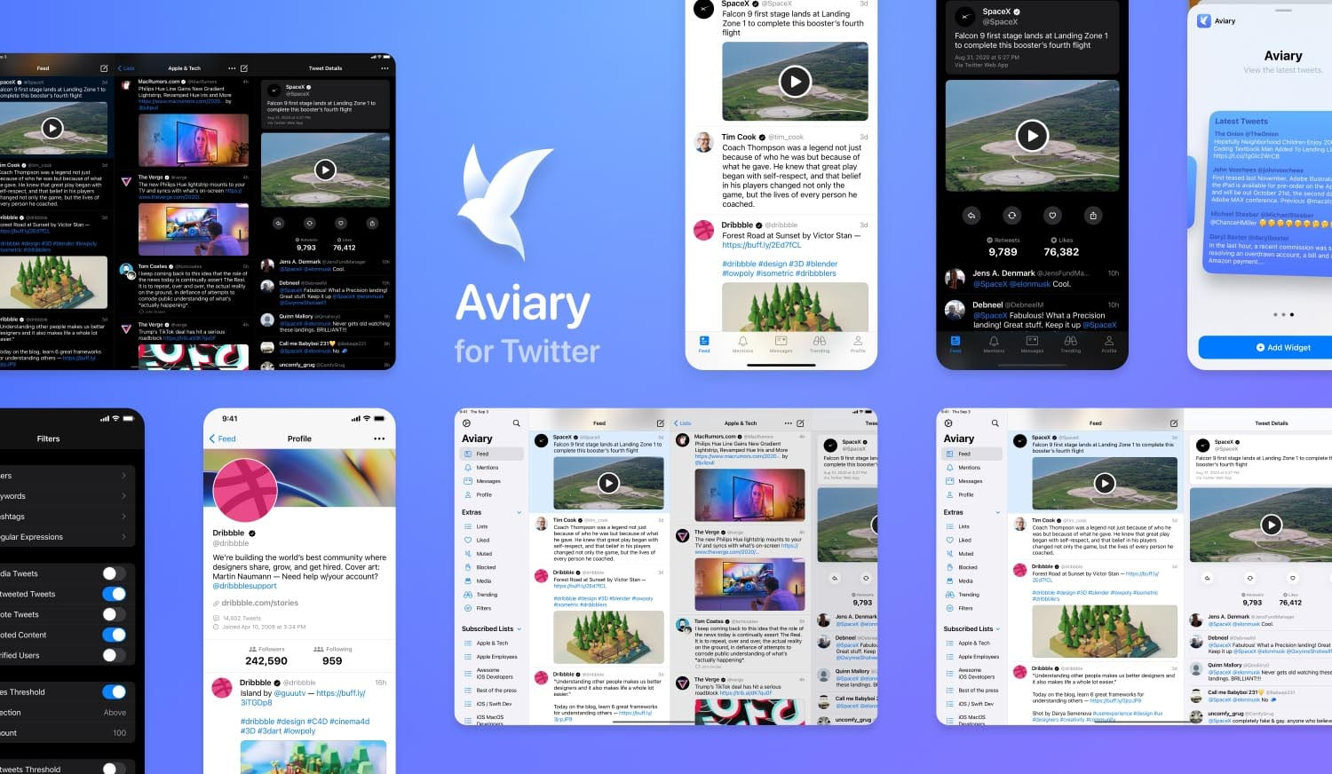 Aviary for Twitter Overview