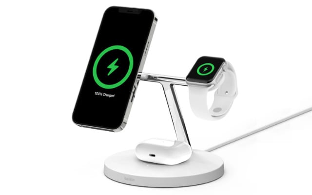 Belkin 3-in-1 MagSafe wireless charger