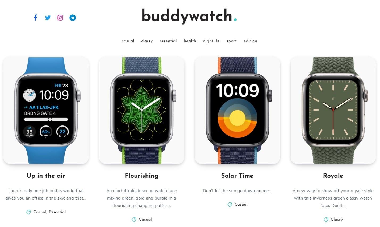 Buddywatch Website