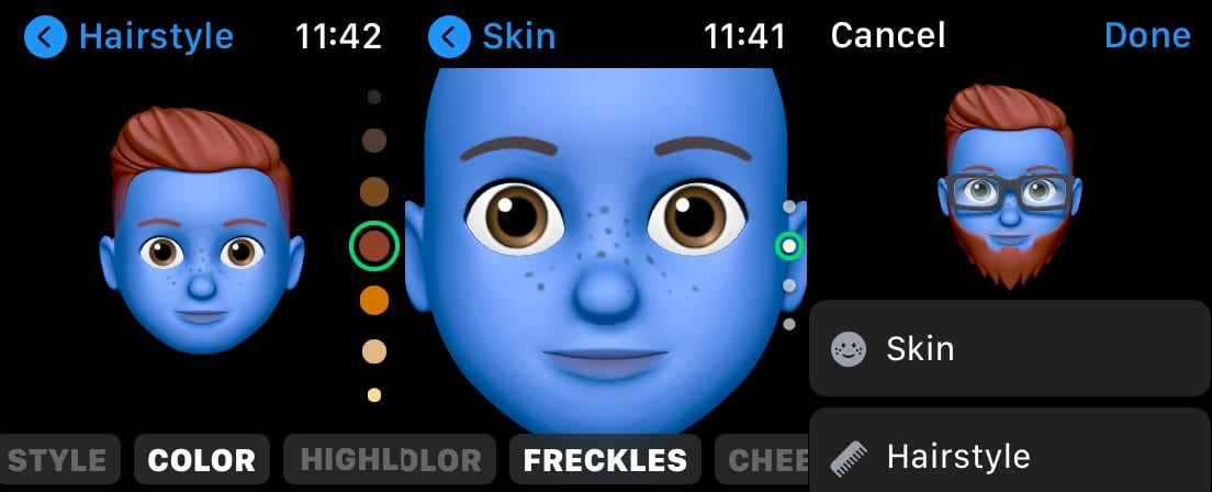 Create Memoji on Watch 2