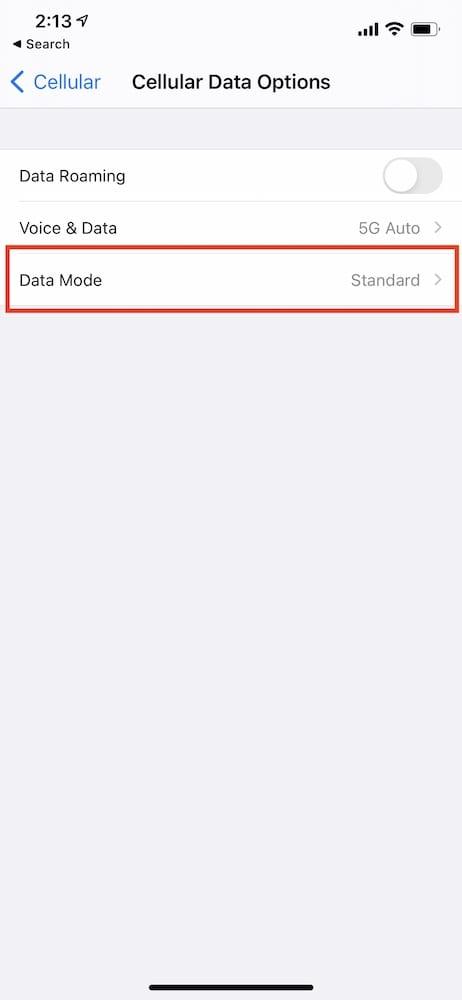 Download iOS Updates over 5G 3