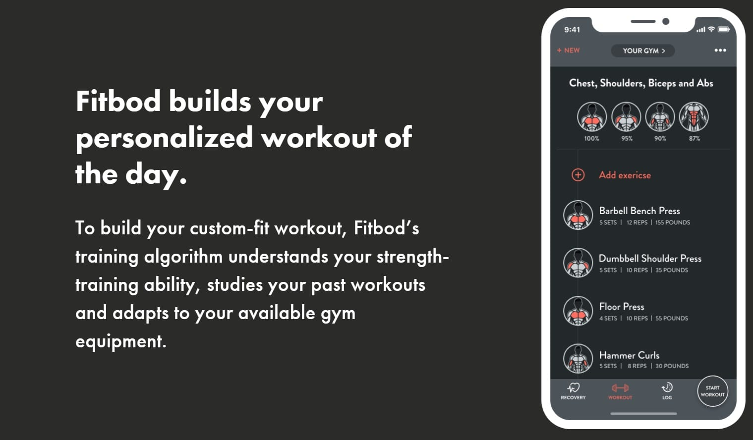 Fitbod Overview