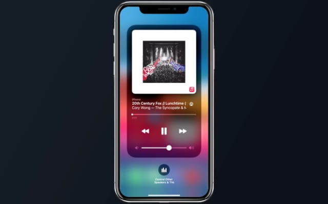 Now Playing interface in iOS 14.2