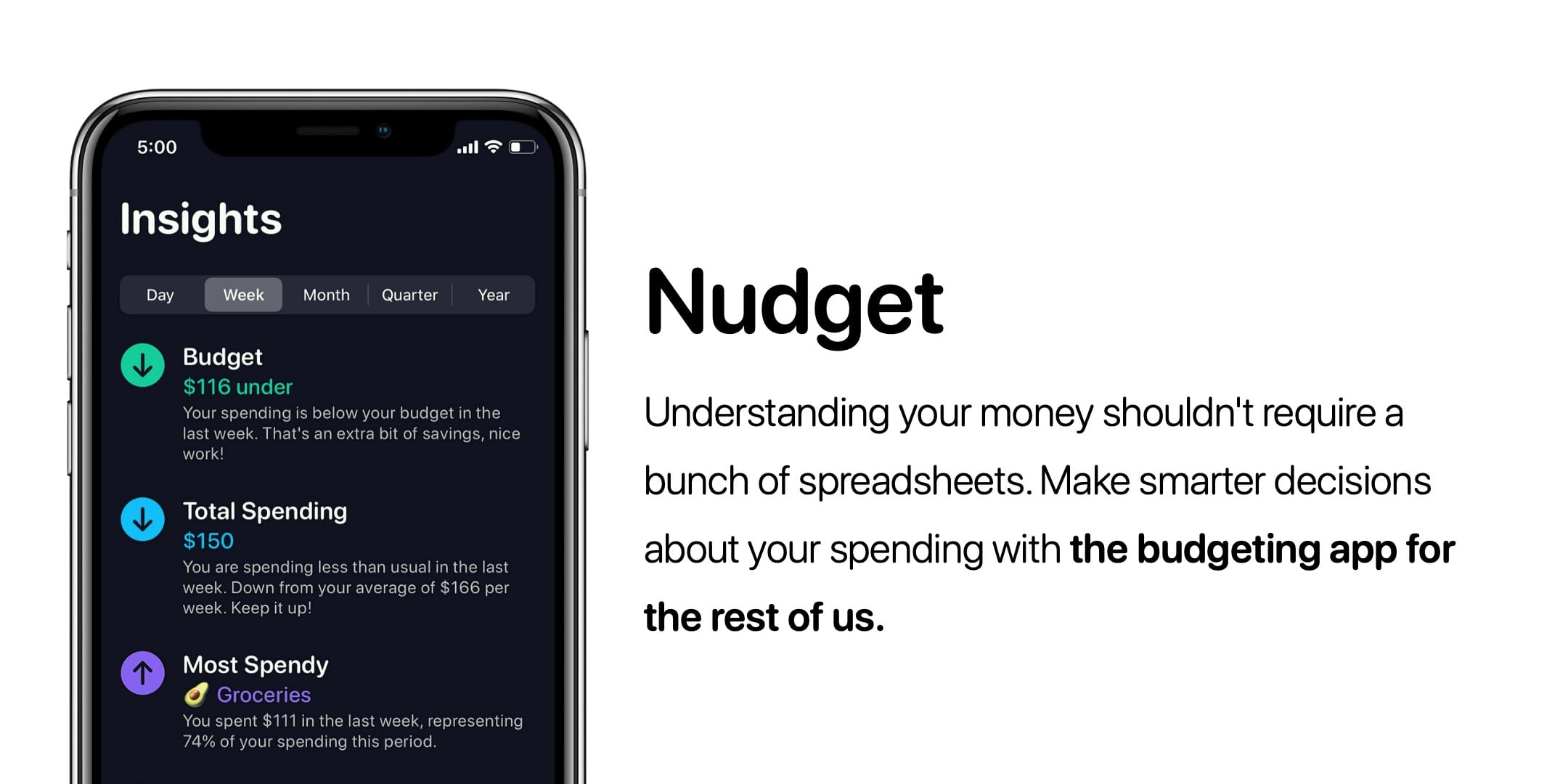 Nudget Overview