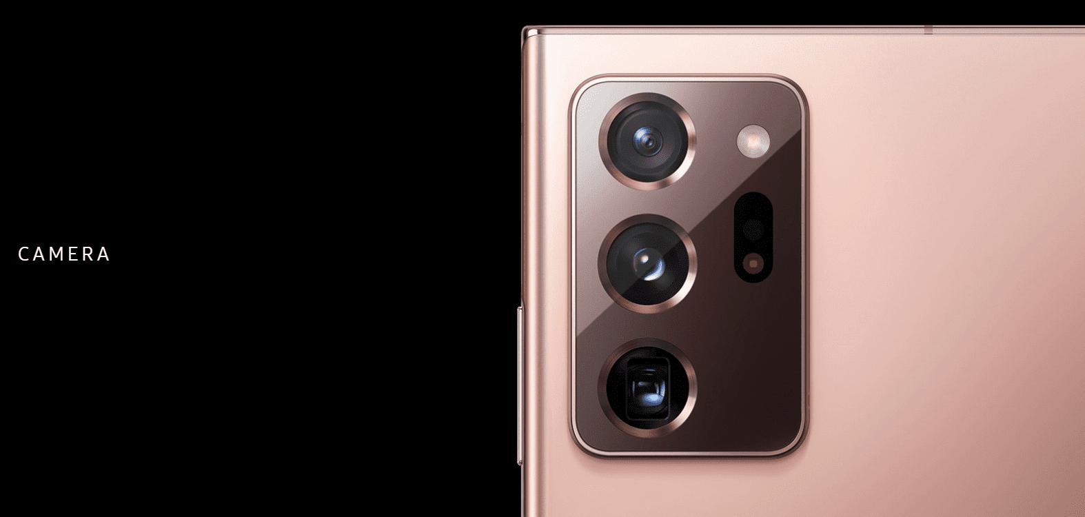 Samsung Galaxy Note 20 Ultra Cameras