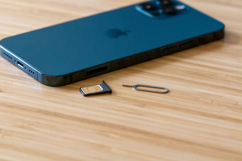 iPhone 12 SIM Remove