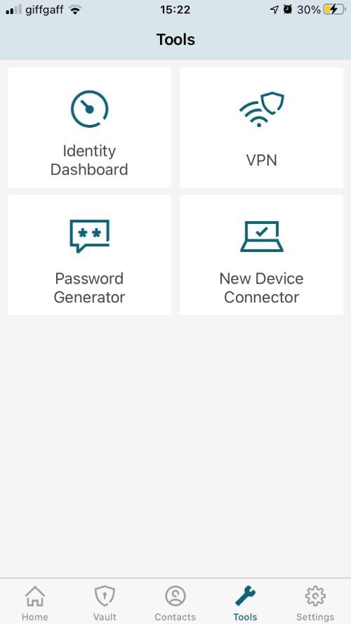 Security tools in iOS app