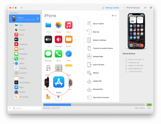 Install Apps on Mac with iMazing 1