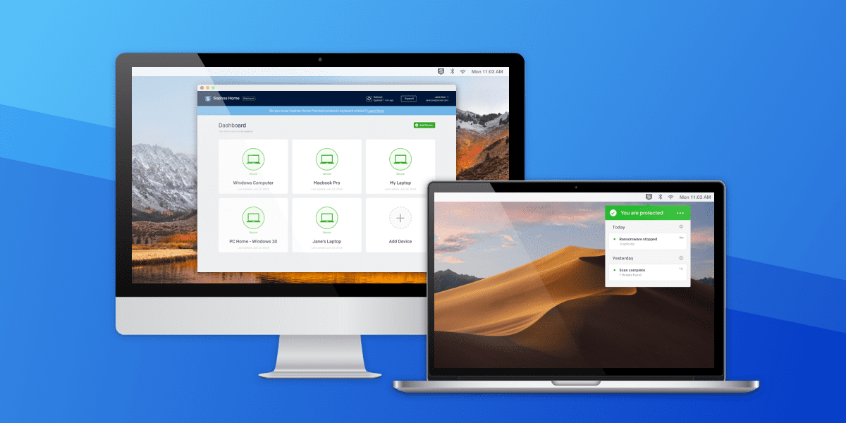Sophos Home for Mac