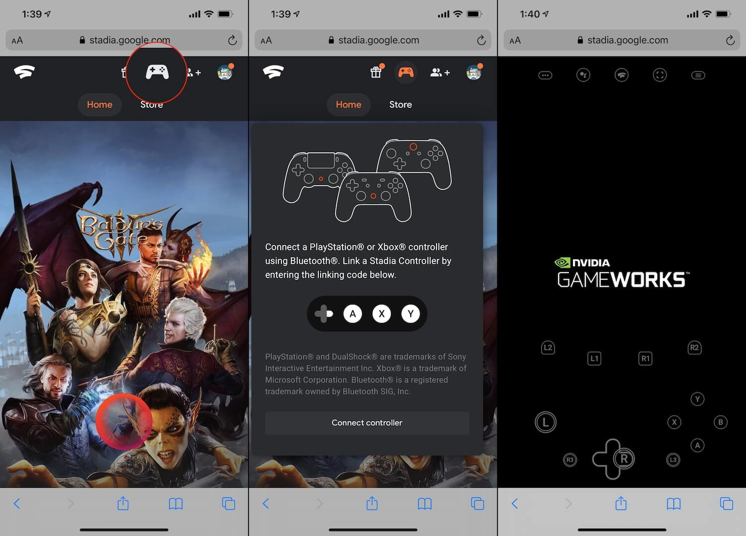 How to Google Stadia on iPhone 2