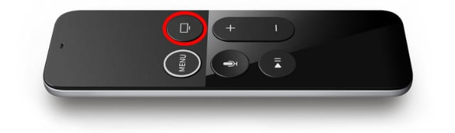 TV button on Siri Remote