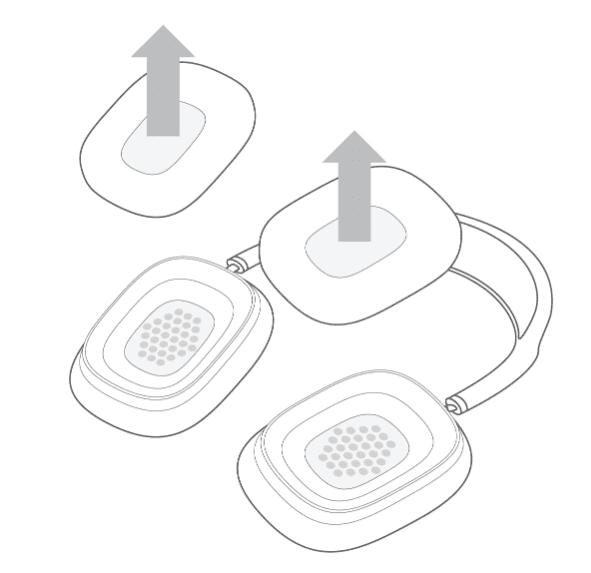Change AirPods Max Ear Cushions