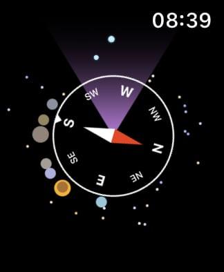 Night Sky compass.