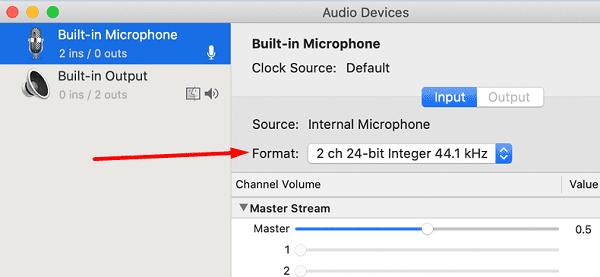 Audio-MIDI-Setup-утилита