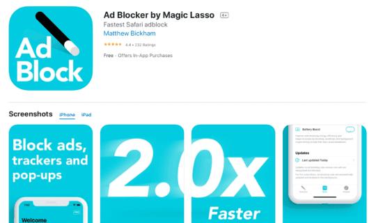 أفضل أدوات حظر إعلانات على Safari