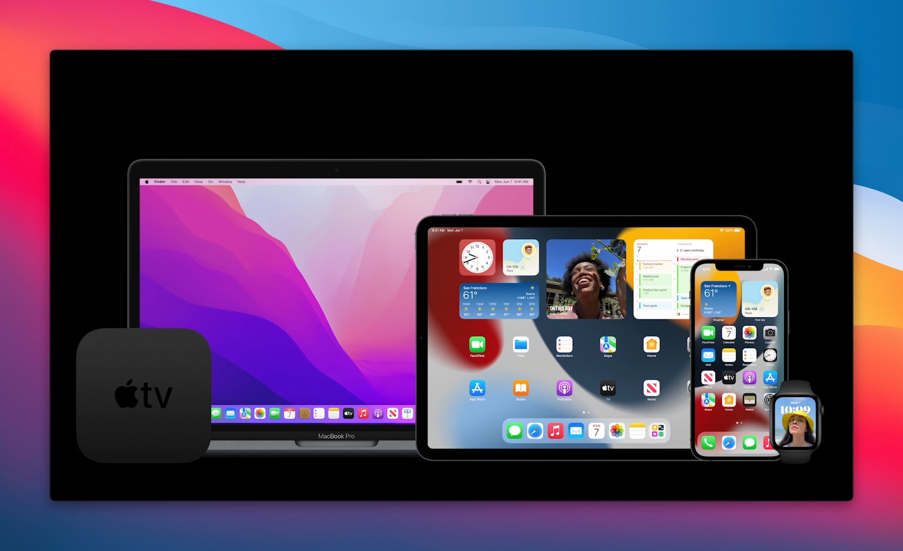 2021 Apple Product Lineup WWDC21