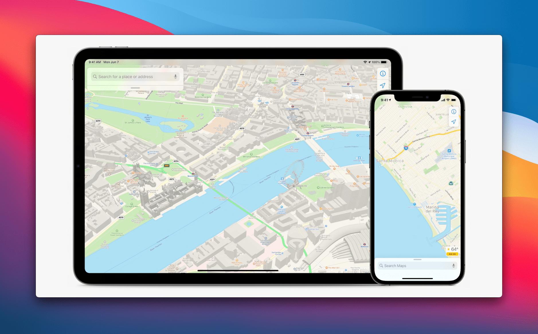 Apple Maps Update iOS and iPad