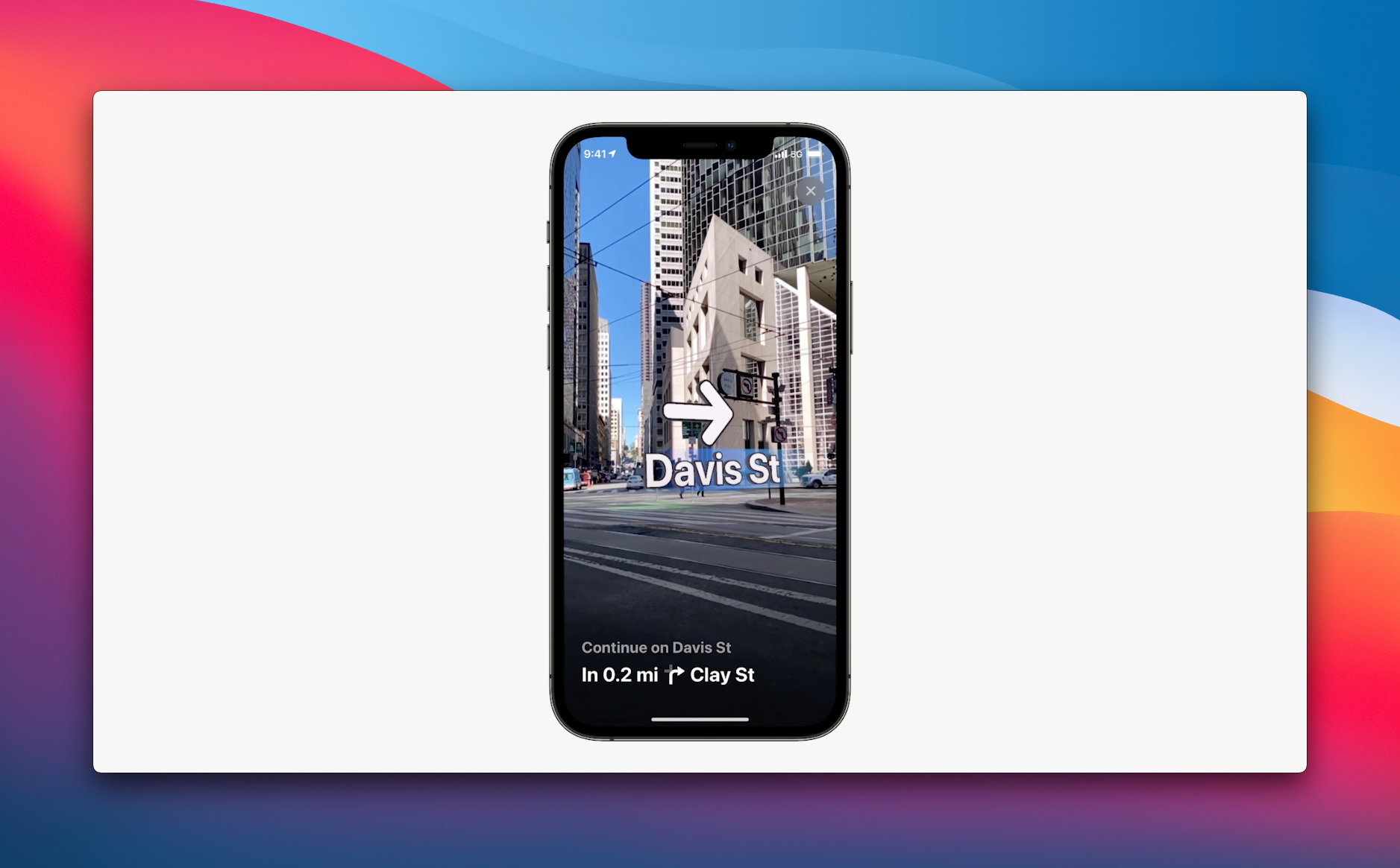 Apple Maps iOS 15 AR Directions