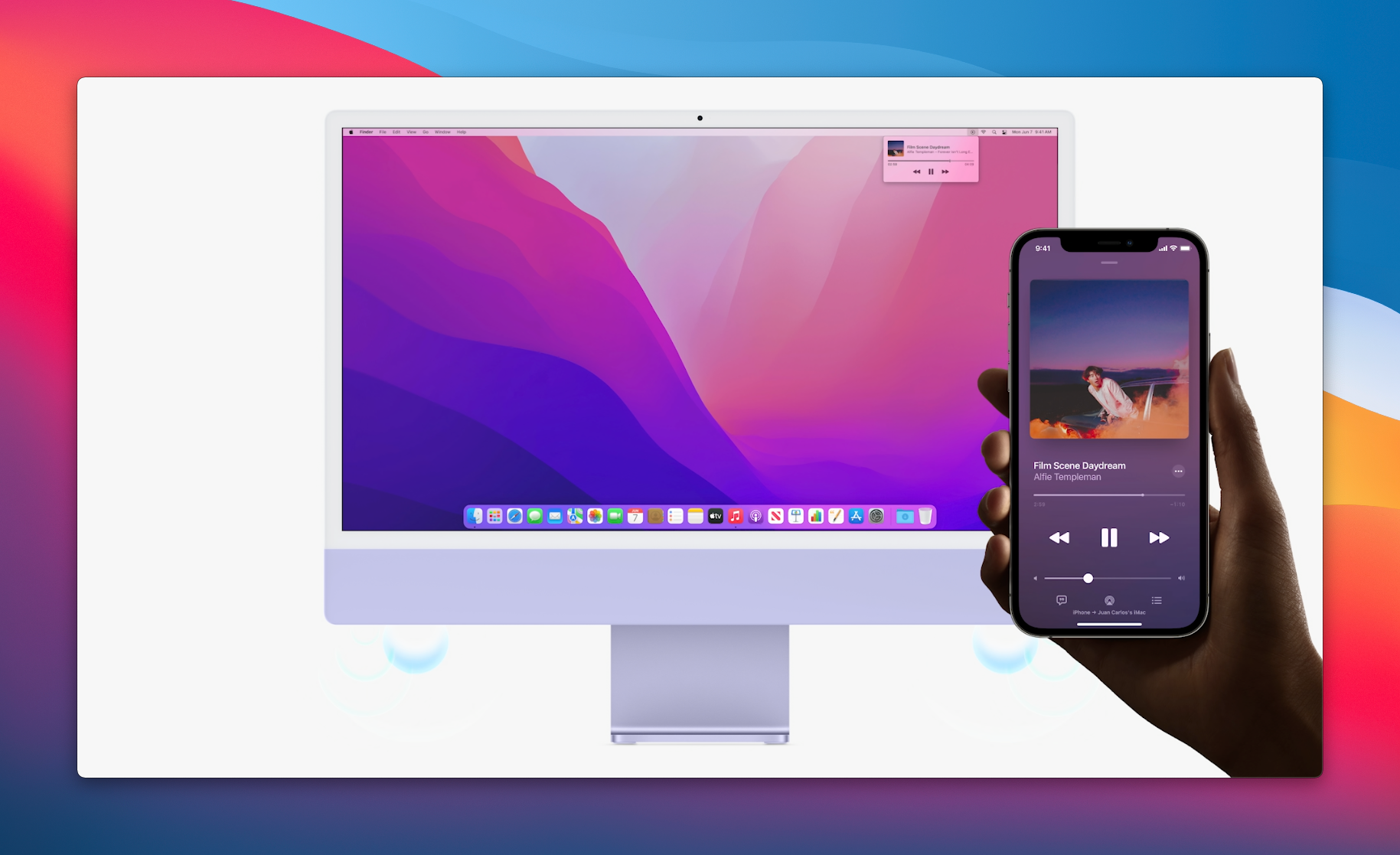 macOS Monterey AirPlay