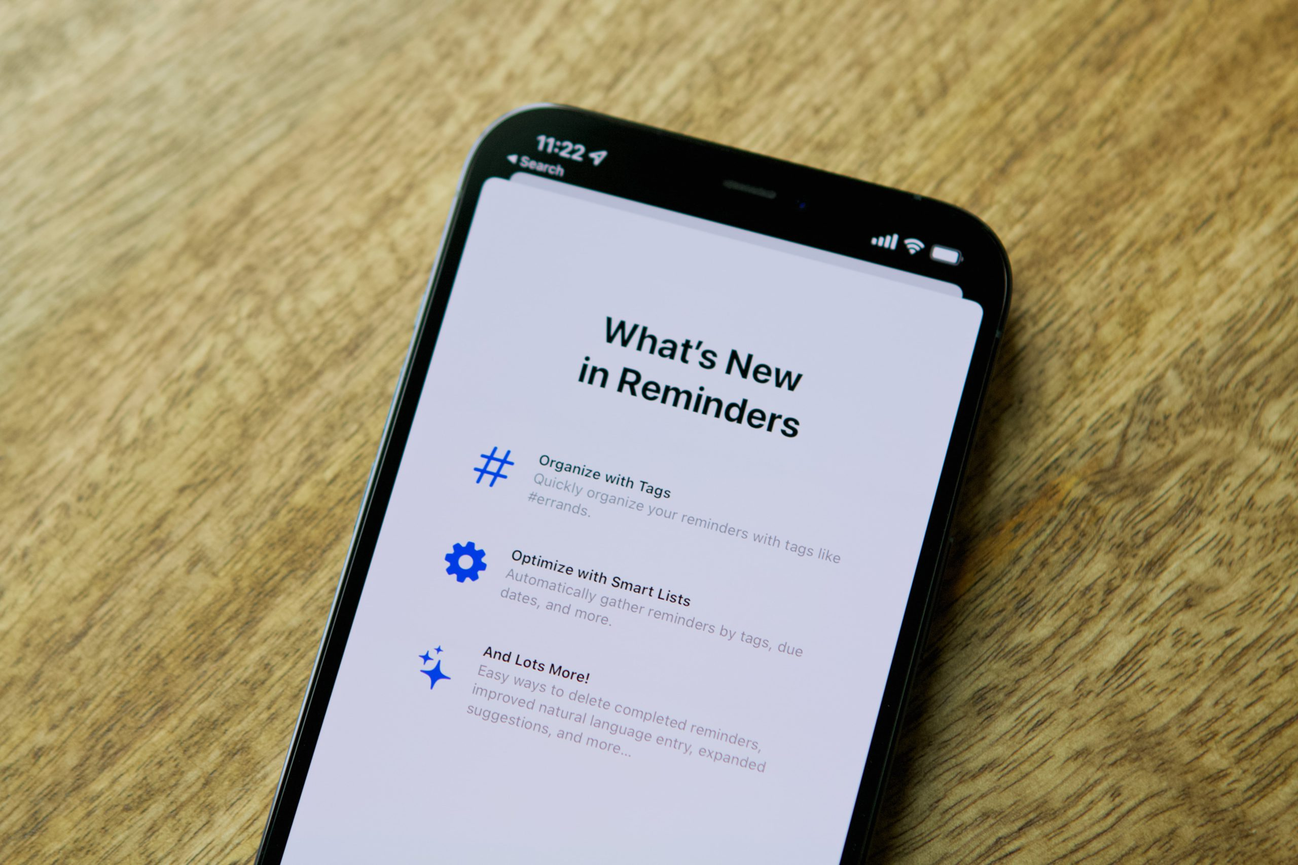 How to create Smart Lists in Reminders Hero